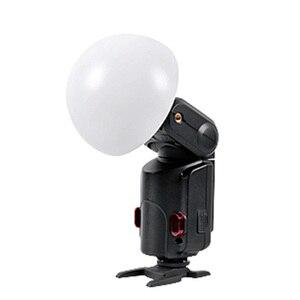Image 1 - Godox szerokokątny Soft Focus Shade 180 stopni Dome dyfuzor Flash AD S17 dla WITSTRO AD 180 AD 360 AD200 Speedlite