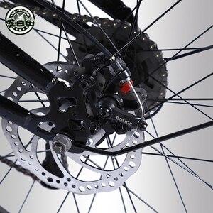 Image 5 - Aşk özgürlük dağ bisikleti 7/21/24/27 hız 26*4.0 yağ bisiklet ön ve arka şok fren kar bisiklet rusça kargo