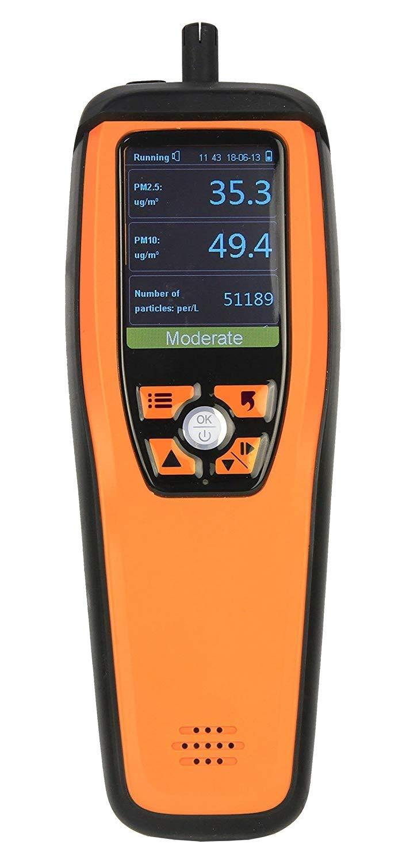 Temtop M2000C Air Qualité Moniteur pour PM2.5 PM10 Particules CO2 Température Humidité réglable Audio Enregistrement D'alarme Courbe