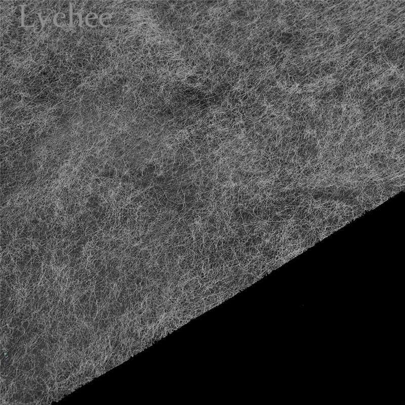 Lychee Life-intercalaires blancs   1.1x1m, tissu adhésif en fer de haute qualité, accessoires de matériel de couture pour Garemets