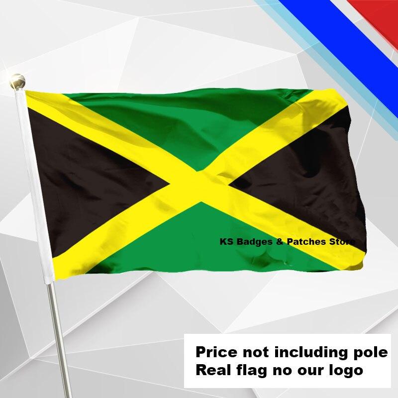 3x5ft Jamaika Flagge Fliegen Flagge #4 144x96 #1 288x192 #2 240x160 #3 192x128 #5 96x64 #6 60x40 #7 30x20 Ks-0197-c