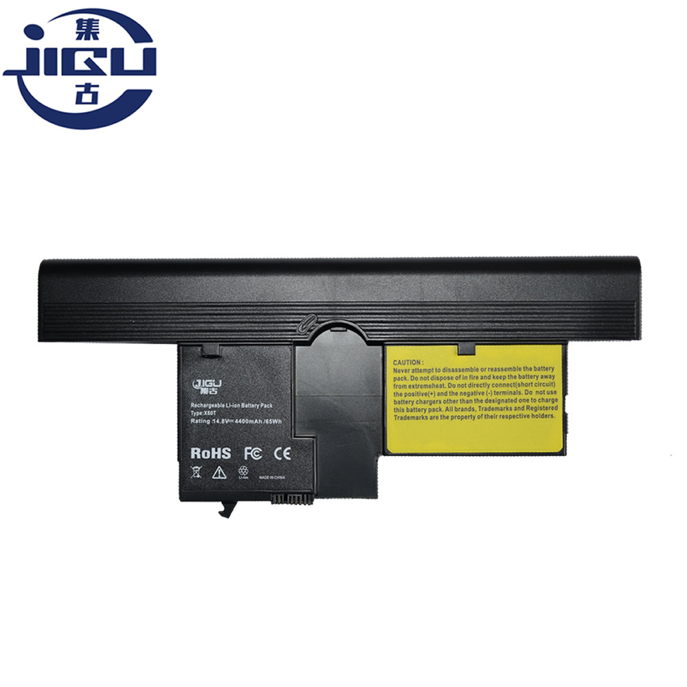 JIGU Wholesale New 8Cells Laptop Battery FOR Lenovo ThinkPad X60 X61 Tablet PC Series 40Y8314 40Y8318 42T5209 42T5204