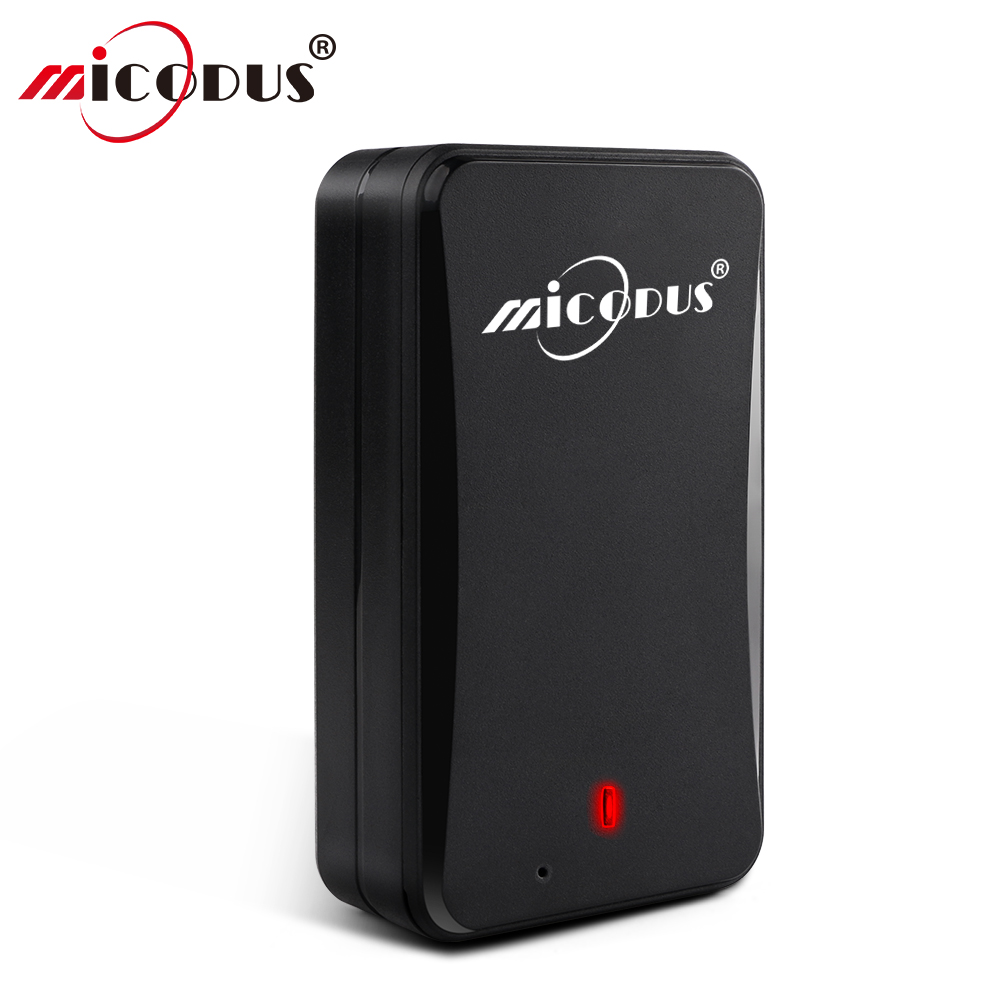 AT4 2G IPX5 Forte Ímã Rastreador GPS Do Carro À Prova D' Água 10000 mAh Longo Tempo de Espera de Rastreamento Em Tempo Real Monitor de Voz GSM GPS Localizador