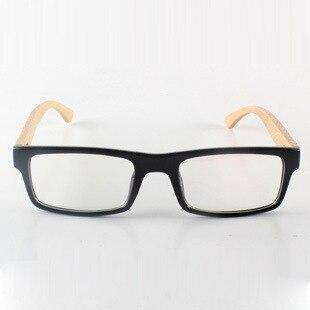 Ацетат кадров и бамбук храм очки деревянные очки оправы