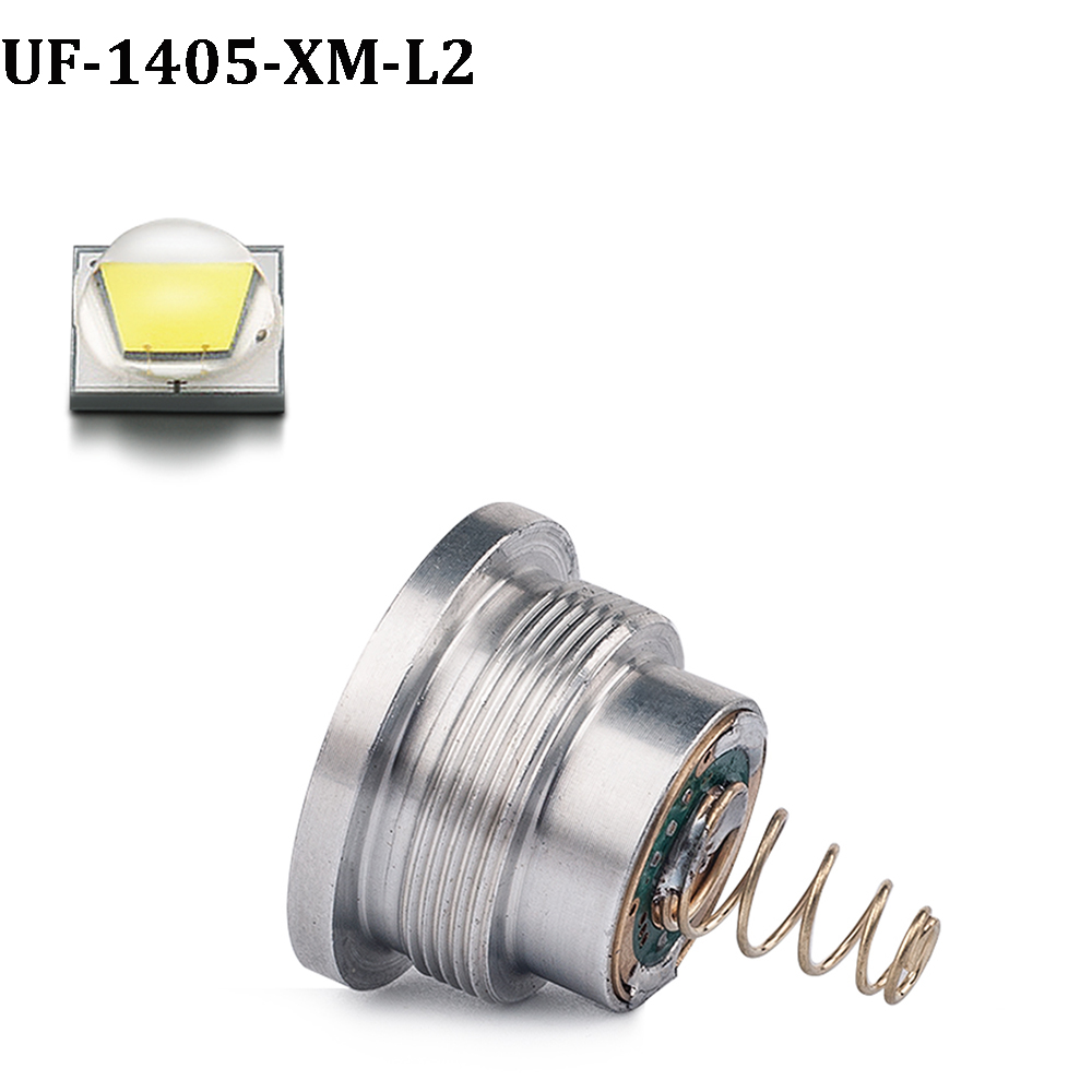 Home original cree xm l2 xml2 led emitter lamp light cold white - 1pcs Uniquefire Cree Xm L2 Drop In Pill White Light Led Bulb 5 Mode