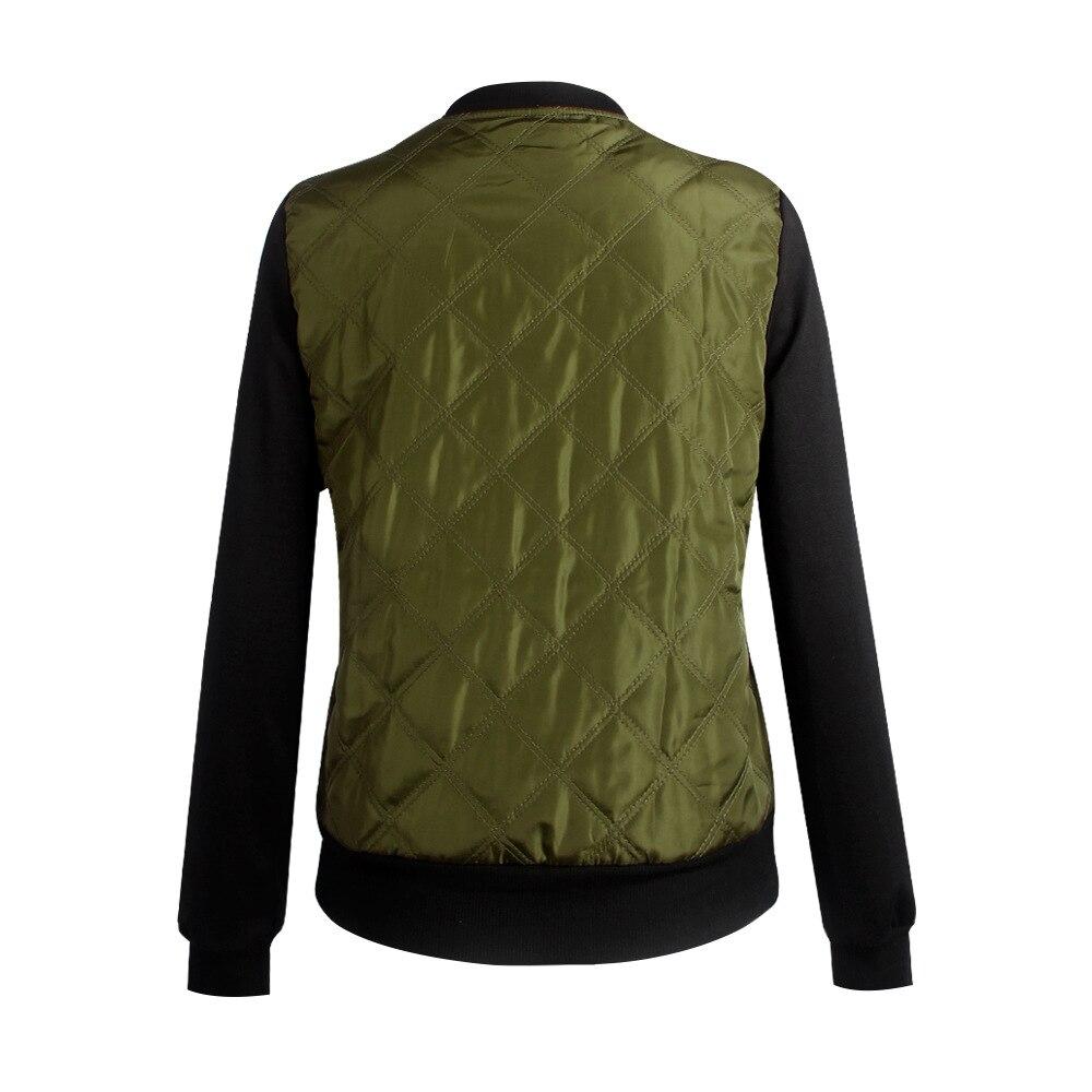 HTB1r YPFeuSBuNjSsplq6ze8pXaR Plus Size Autumn Winter Fashion Slim Women's Jacket Zipper Cardigan Splice Bomber Jackets 2019 Long Sleeve Bodycon Coats Female