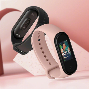 Image 5 - Xiao mi mi Band 4 Smart Armband 3 AMOLED Farbe Bildschirm mi band 4 Herz Rate Fitness Bluetooth Sport 50ATM wasserdicht SmartBand