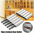 10 Pcs Porta Fermacorda e ganci Fermo per armadio Push to Open System Touchs Damper Buffer Soft Tranquilla Vicino Ferramenta per mobili