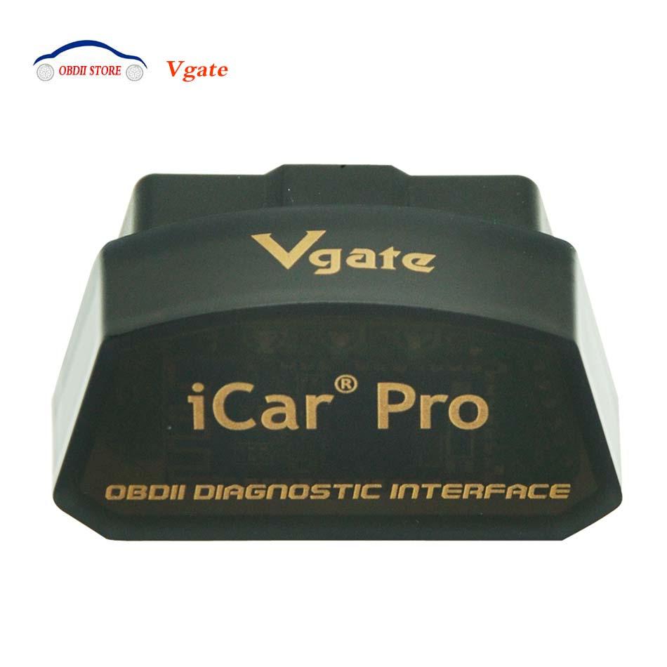 Vgate iCar Pro ELM327 Bluetooth/WIFI v1.5 OBD2 OBDII EOBD Auto Strumento Diagnostico Elm 327 iCar Pro Scanner Per android/IOS