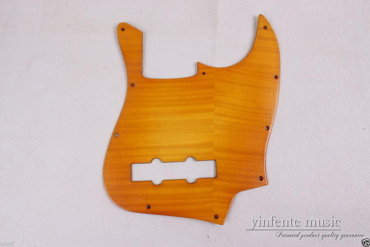 diy electric bass guitar pickguard maple wood jazz bass guitar accessory 1833 in guitar parts. Black Bedroom Furniture Sets. Home Design Ideas