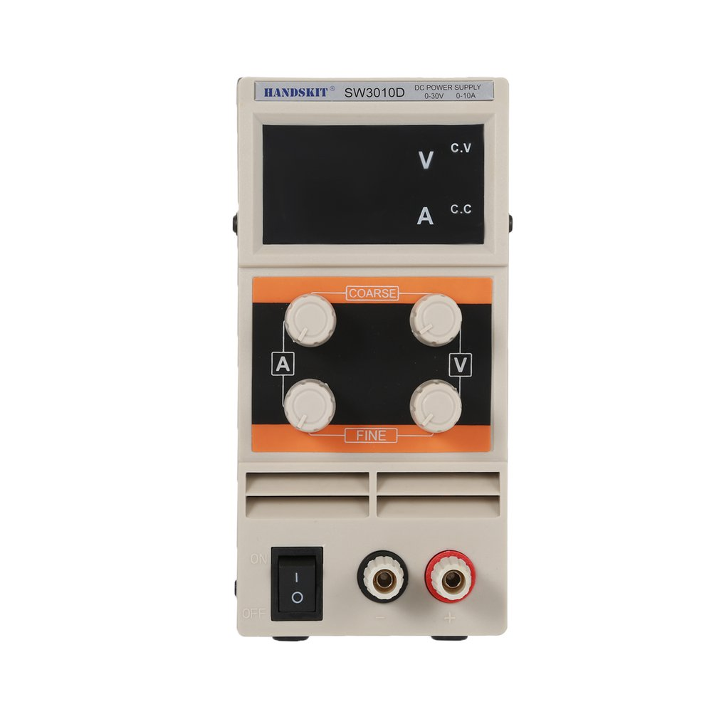 SW3010D 30V/10A DC Power Digital Supply Current Voltage Adjustable Switch Stabilized Volt Electric Maintenance Phone Repairing