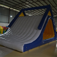 Inflatable Water Slide Fireproof Tarpaulin Inflatable Sports Game Water Amusement Park Water Games