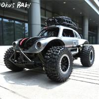 Newest Remote Control RC Cars Toys 1/14 2.4GHz 25km/H Independent Suspension Spring Off Road Vehicle RC Crawler Car Kids Gifts