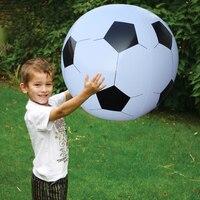 75 cm 130 cm Gigante Inflável Voleibol Futebol Crianças Jogar Brinquedos de Praia Ao Ar Livre Adulto Jardim Fonte Do Partido Crianças De Futebol Gigante