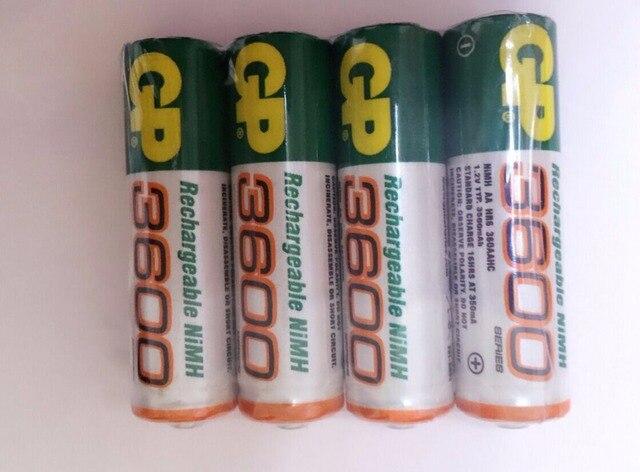 16 Шт. NiMH AA 1.2 В gp AA NI-MH Аккумуляторов 3600 bateria recargable батареи pilha recarregavel 800 мАч