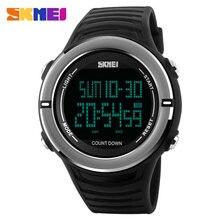 SKMEI Nuevo Deporte Relojes de Los Hombres de Moda Multifunción Reloj Militar 50 M Impermeable Digital de Pulsera Del Relogio masculino 1209