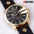 CURREN Relogio Masculino Golden Men Watches Top Luxury Popular Brand Watch Man Quartz Gold Watches Clock Men Wrist Watch 8176