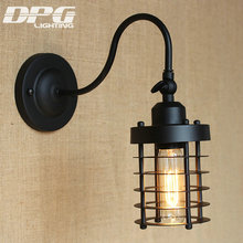 industrial wall sconce vintage led lamp loft antique lights american classic for home indoor bedside up down cheap lighting