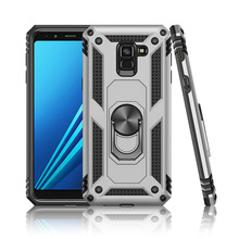 TPU+PC 360° Rotating Sergeant Shatter Resistant Bracket Armor Case For Samsung galaxy A10 Anti Scratch
