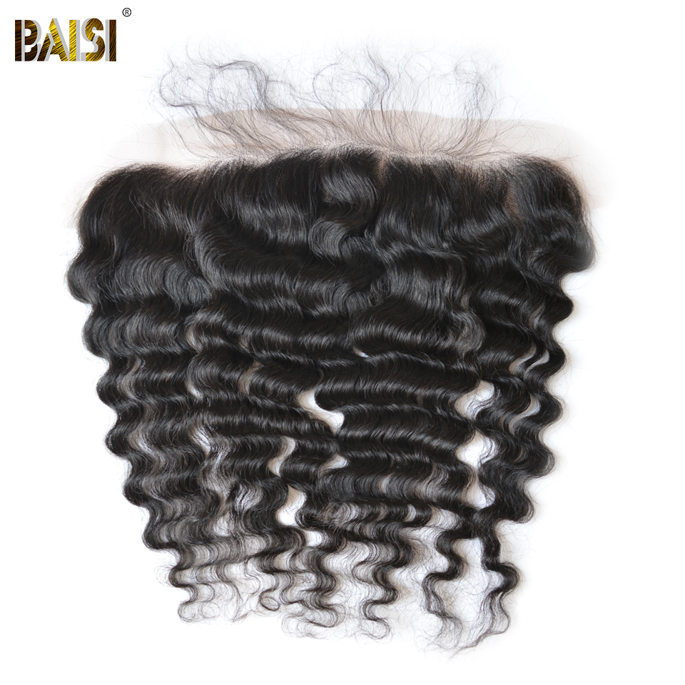 Байси бразильский девственные волосы Синтетический Frontal шнурка волос естественная волна сорвал естественно волосяного покрова бесплатная...