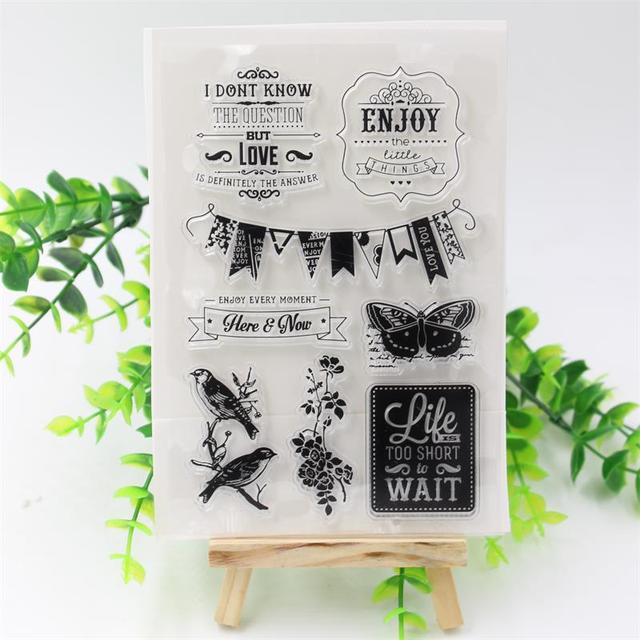 YPP CRAFT Cute Designs  Transparent Clear Rubber Stamp Seal Paper Craft Scrapbooking Decoration Projects