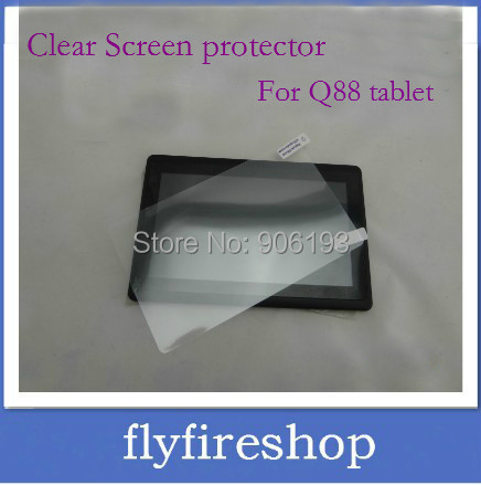 """500pcs/lot 7 inch tablet pc Clear Screen Protector Film for 7"""" Allwinner A13 Q88 Screen Protective Protector DHL Free shipping"""