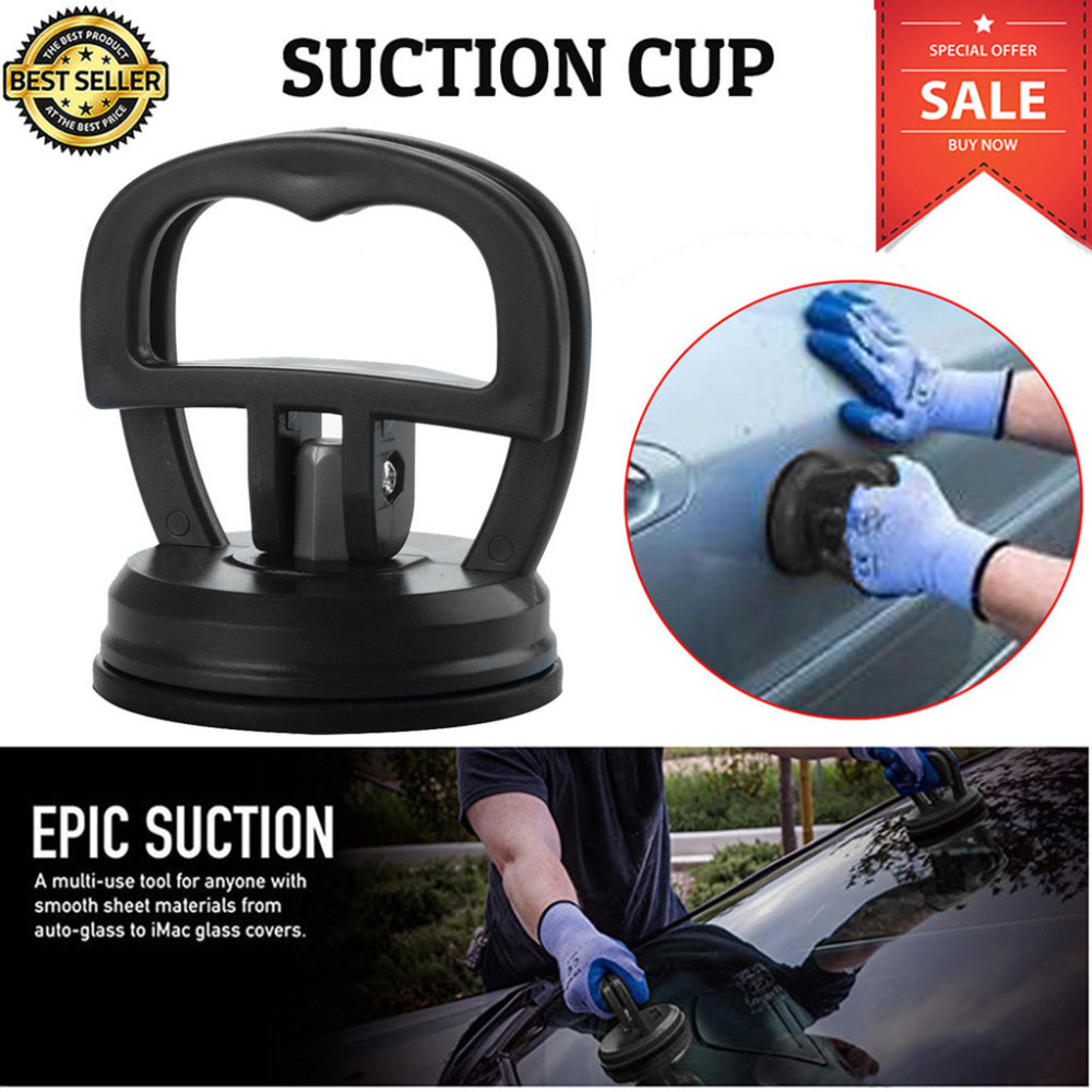 2019 New Mini Auto Dent Remover Puller Body Dent Removal Tools Strong Suction Cup Car Repair Kit Glass Metal Lifter Locking 1.7