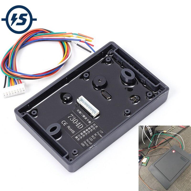 Double Fréquence Lecteur RFID Sans Fil Module 5 cm Lecteur Écrivain Mode 13.56 mhz 125 khz ISO14443A EM4100 pour Arduino RFID module