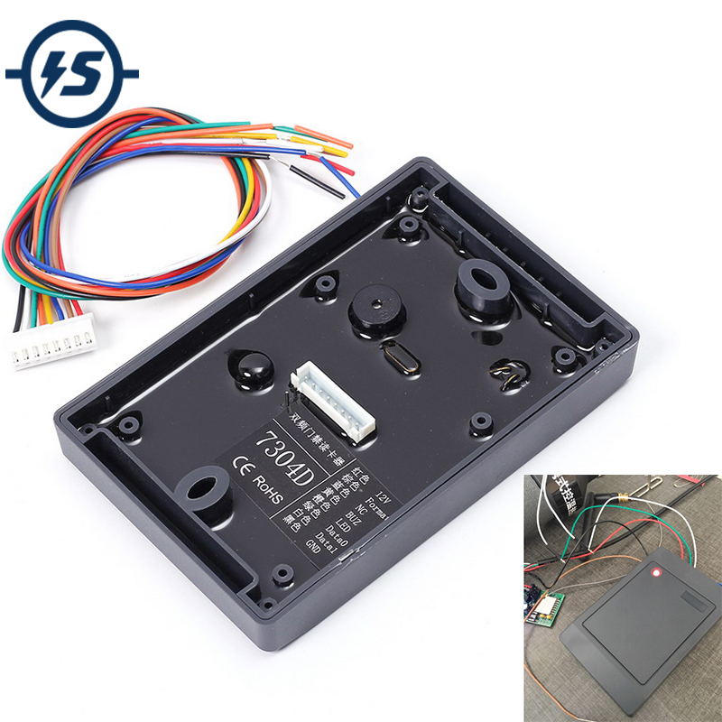 Dual Frequency RFID Leser Drahtlose Modul 5 cm Reader Schriftsteller Modus 13,56 mhz 125 khz ISO14443A EM4100 für Arduino RFID modul