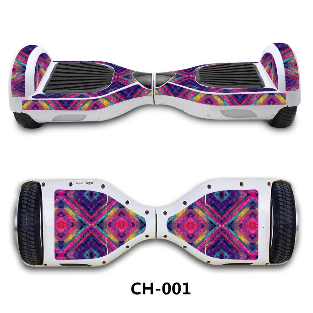 6,5 zoll elektroroller Aufkleber Gyroscooter hoverboard Skateboard aufkleber Blance rad vorstands giroskuter über bord Aufkleber