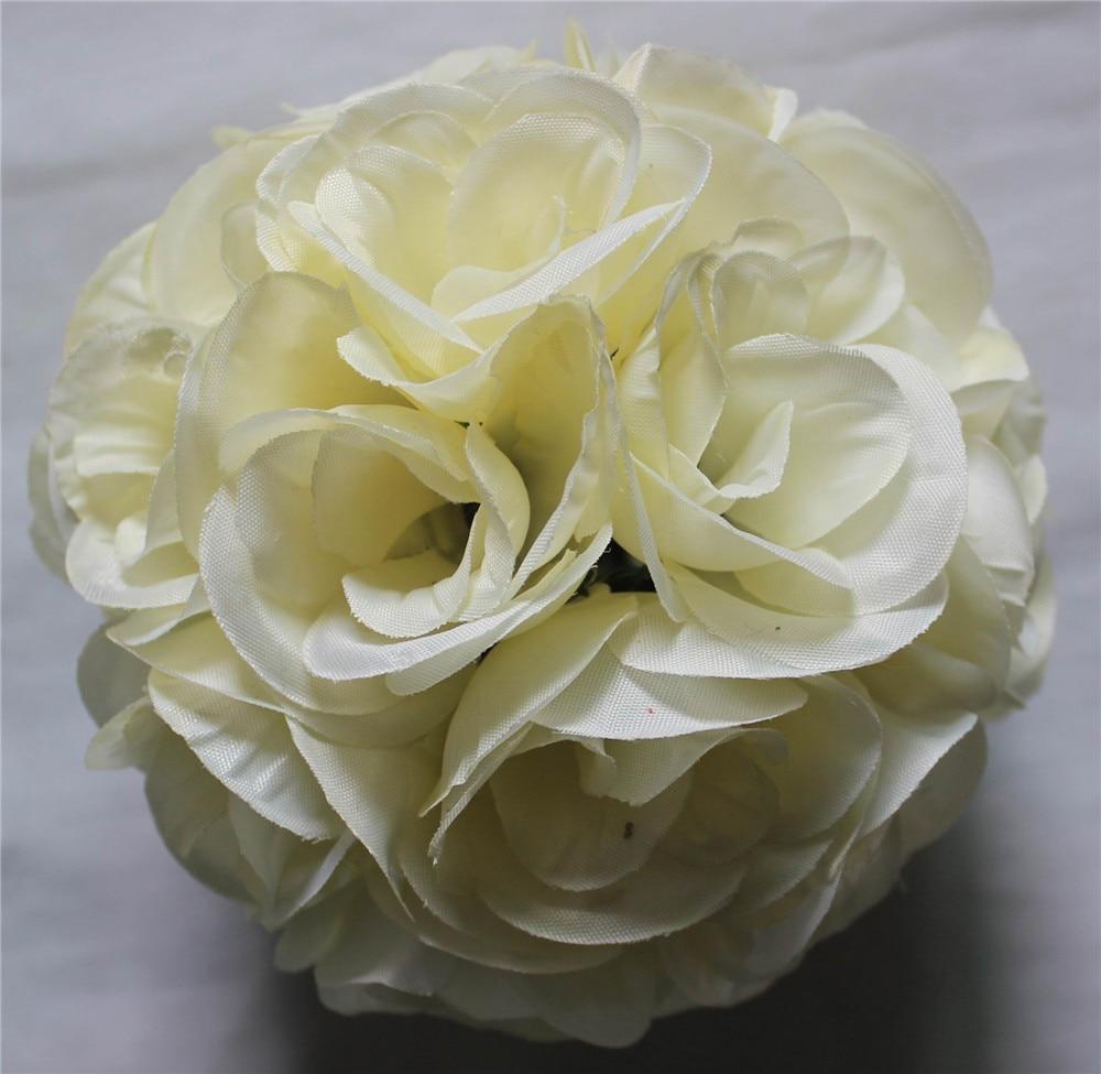 SPR 20PCS / lot 15cm dia. vjenčanja ljubakanje cvijet lopta ruža - Za blagdane i zabave - Foto 5