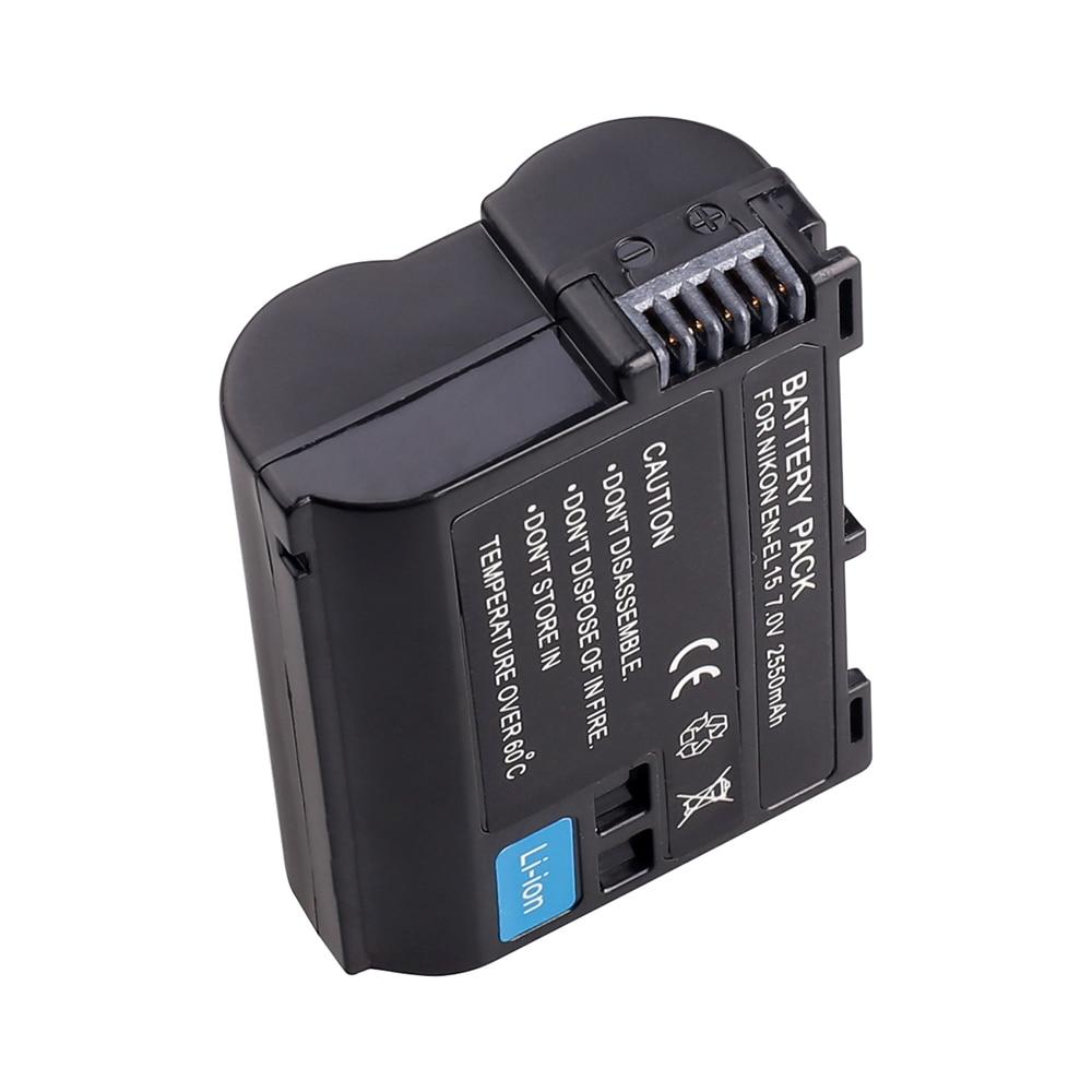 Spash 垂直バッテリーグリップと 1 ピース EN EL15 バッテリーニコン D750 として MB D16 カメラハンドグリップホルダーパックバッテリーセット  グループ上の 家電製品 からの バッテリーグリップ の中 3