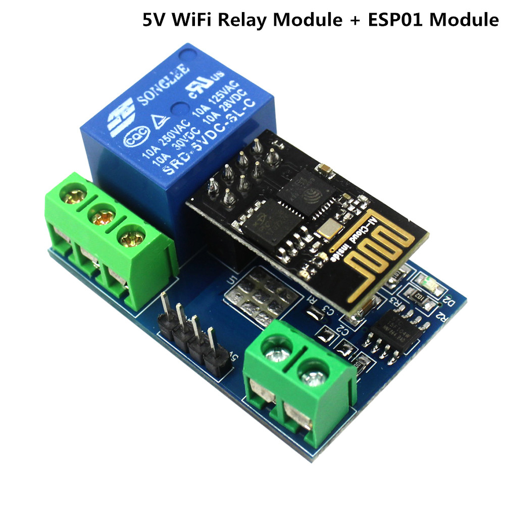 Free Shipping 5v Low Level Trigger One 1 Channel Relay Module Price Of Switch Phone App For Esp8266 Wifi Things Smart Home Remote Control Priceusd 426
