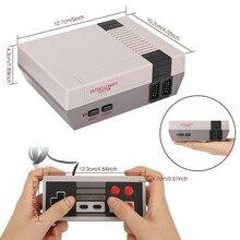 Vintage Retro 620 N/P consola de juegos de TV clásico 620 juegos integrados 2 Gamepad regalo para niños