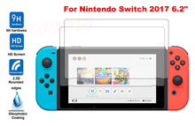 5pcs/lot 0.33mm 2.5D Arc Edge Tempered Glass Film For Nintend Nintendo Switch 2017 6.2″ New Arrivals Screen Protective Film