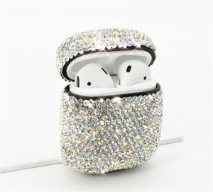 Image 4 - diamond Case For Airpods For Air Pods Shockproof Earphone Protective Cover Waterproof for iphone 7 8 Headset Accessories