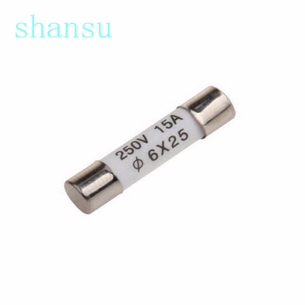 Ceramic Fuse for Multimeter 6×25mm bs1362 1 a 3 a 5 a 10 a 13 a Amp 250 V DD