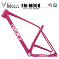 2019 Tideace mtb carbon frame 27.5er carbon mountain bike frame 27.5 plus mountain frameset accept DIY