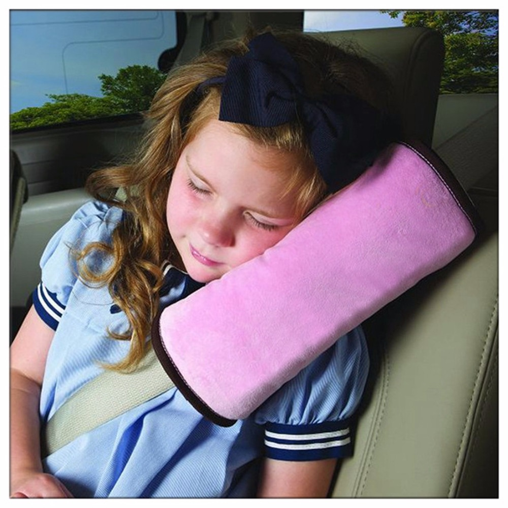 1 x usefully pink baby kids car auto seat belt cushion shoulder pad pad cover auto