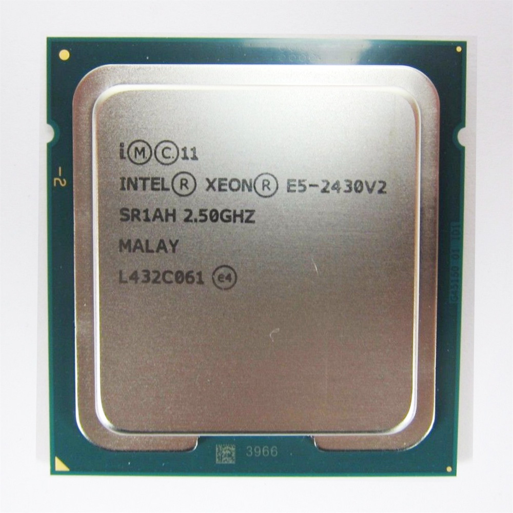 Intel Xeon CPU E5 2430 V2 SR1AH cpu 6 Core 15M  2.2GHz 6 Core 15M LGA 1356  processor-in CPUs from Computer & Office
