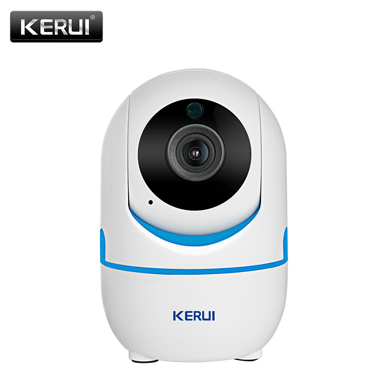 KERUI 720P 1080P Portable Small Mini Indoor Wireless Home Security WiFi IP Camera Surveillance Camera Night Vision CCTV Camera wifi ip camera indoor bulb light camera home security cctv surveillance micro camera 720p 1080p mini smart night vision hd cam page 5