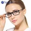 TenLon Marca de alta calidad de los hombres de moda Al-mg marcos gafas Templo marco mujeres gafas armacao gafas de grau feminino