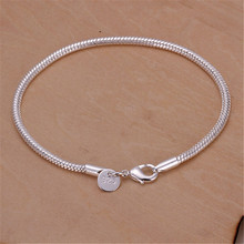 Chain Bracelets Listings Fashion Jewelry Christmas-Gifts Snake Silver-Color High-Quality