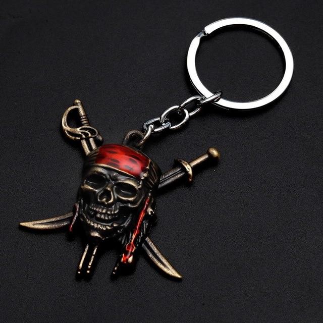Брелок металлический Пираты Карибского Моря