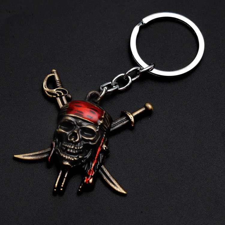 Yuri On Ice Direct Selling Pirates Of The Caribbean, Jack, Captain Sparrow, Pirate Skull, Exquisite Electroplated Alloy Buckle.