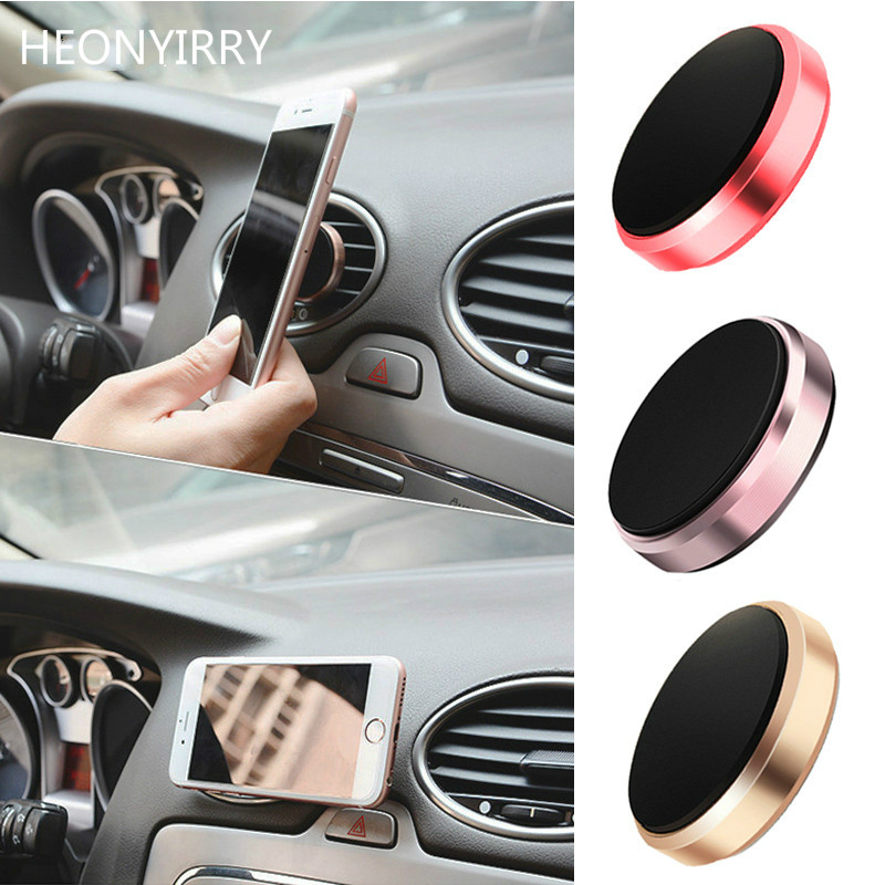 1PC Universal Smartphone Car GPS Bracket Magnetic Stand Dashboard Mount Metal Phone Holder Car Styling Tools car magnetic holder