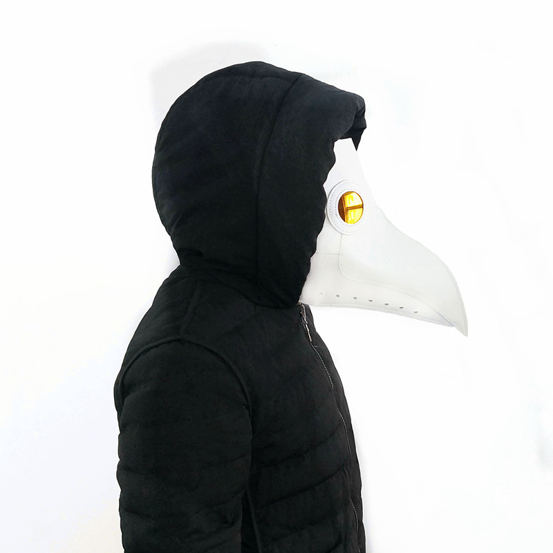 New-plague-doctor-mask-Beak-Doctor-Mask-Long-Nose-Cosplay-Fancy-Mask-Gothic-Retro-Rock-Leather(4)