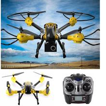 2016 New K70C Sky 2.4G 4CH 6 Axis 3D Headless 2MP Camera RC Quadcopter Drone Helicopters Aug19