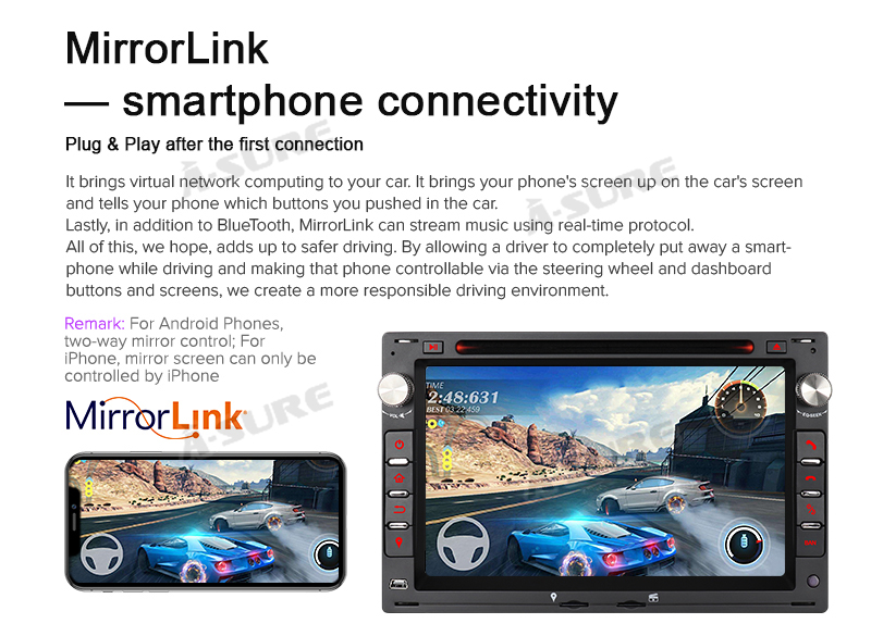 Android 9.0 VW Golf Transporter Passat 2 Din GPS DVD DAB+ WiFI 72