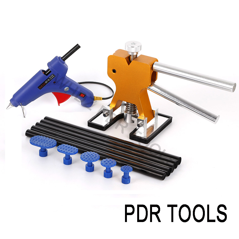 WHDZ PDR Tools DIY Golden Dent Lifter Pdr Glue Tabs Glue Sticks Auto Paintless Dent Repair Tools